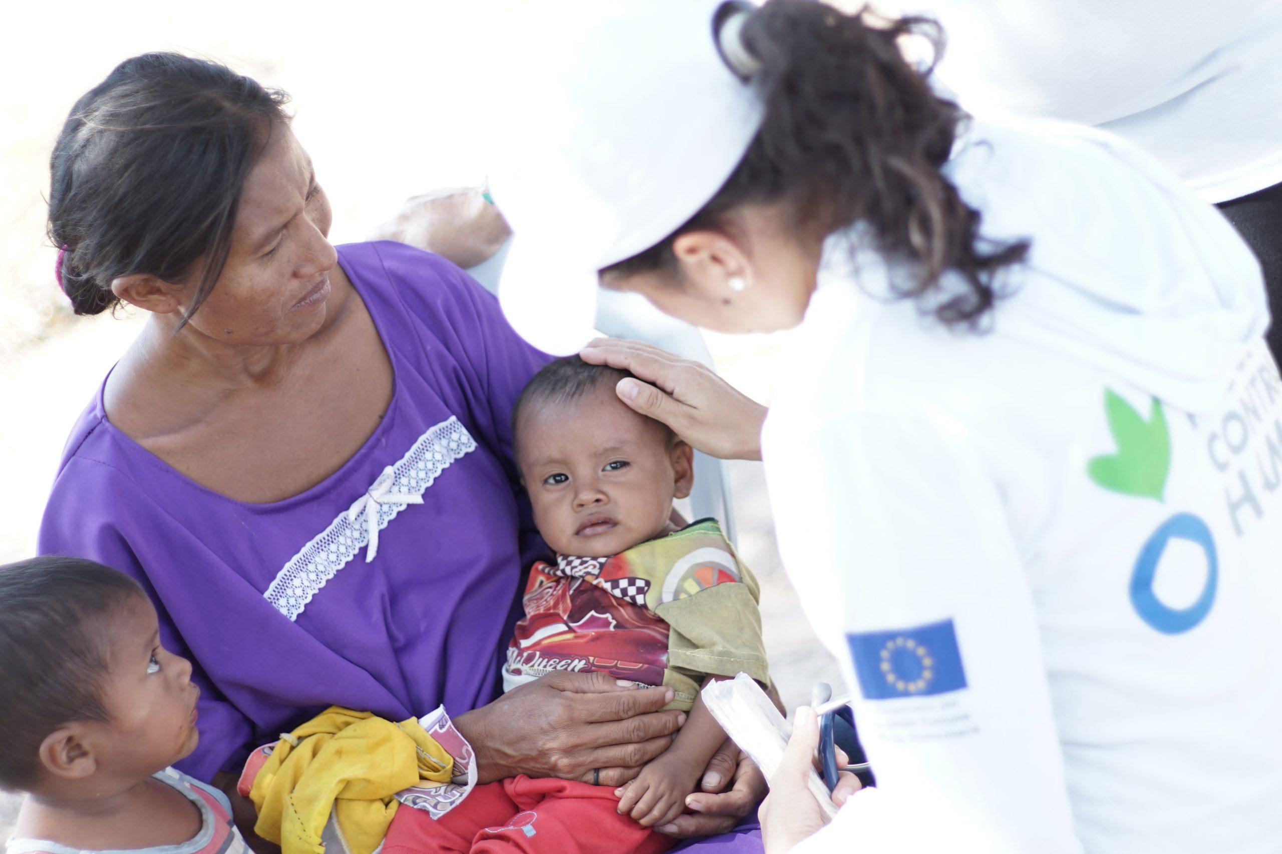 RESPUESTA HUMANITARIA A LA EMERGENCIA EN ARAUQUITA, ARAUCA, POR DESPLAZAMIENTO DE CERCA DE 5.000 PERSONAS DESDE VENEZUELA HACIA COLOMBIA